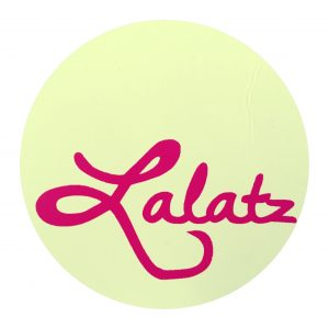 lalatz new logo ice-cream color
